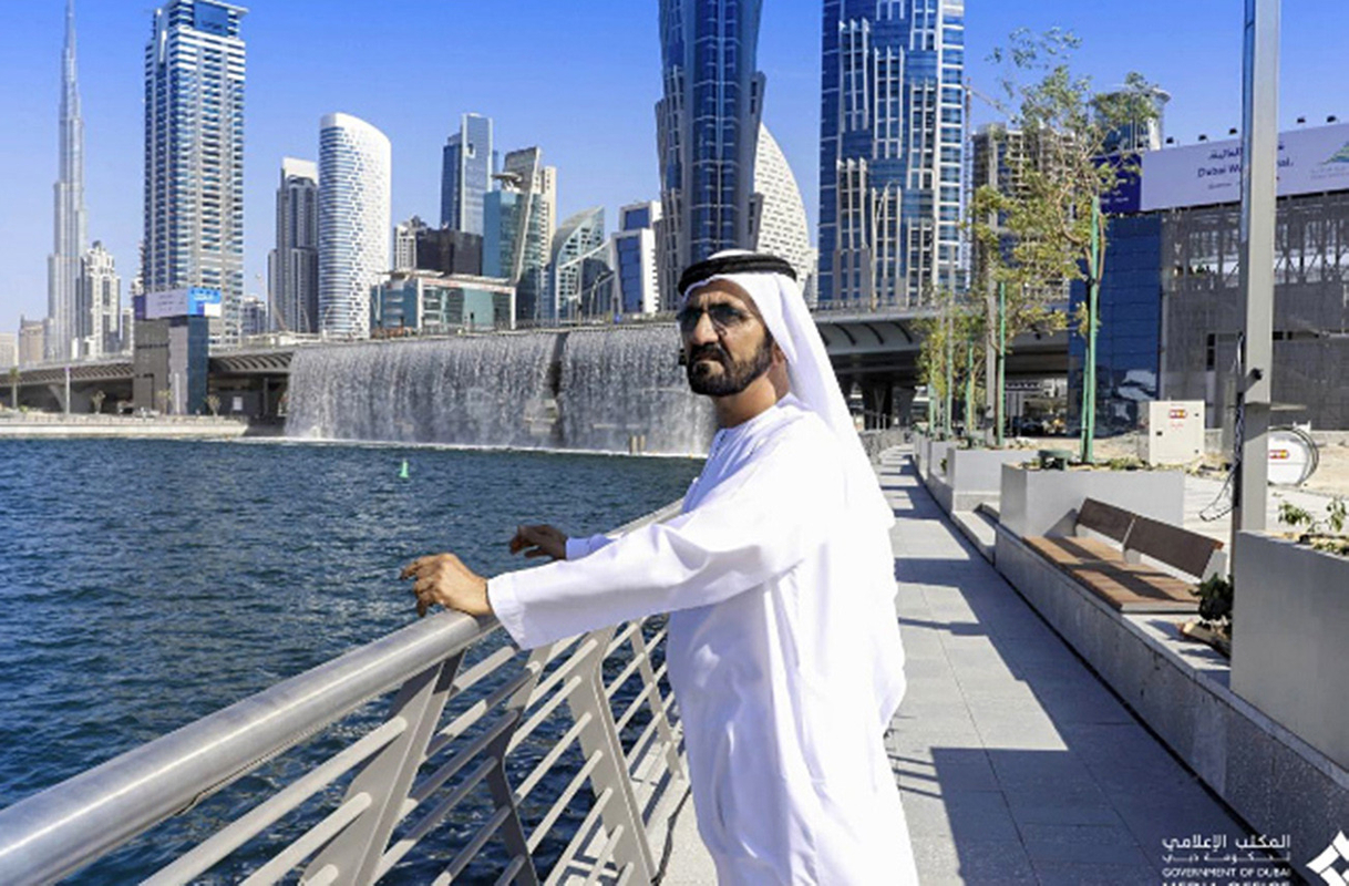 MBR inaugurates the Dubai Water Canal_2016