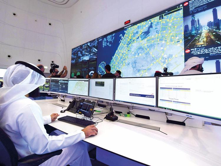 The RTA command and control centre