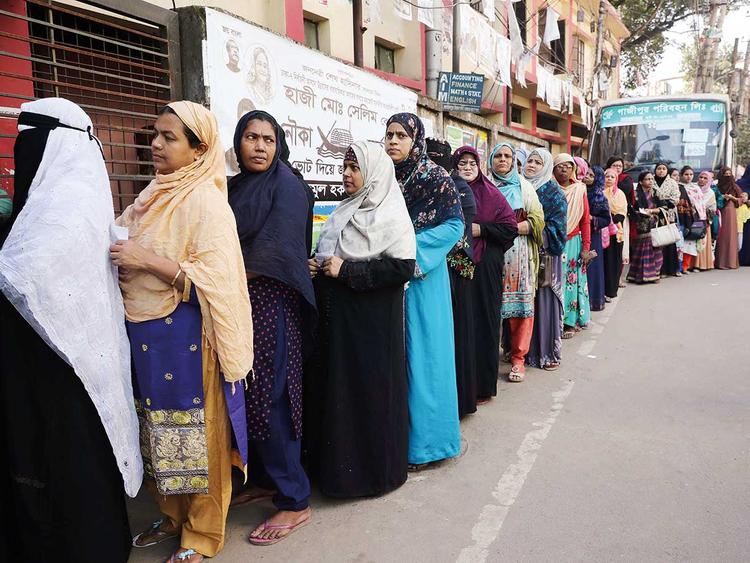 general election in Dhaka, Bangladesh 01