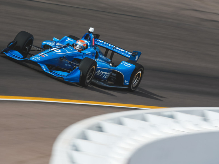 Jones testing well ahead of second Indy Car season