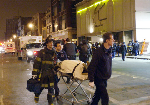 February 17, 2003: Nightclub stampede kills 21 in Chicago