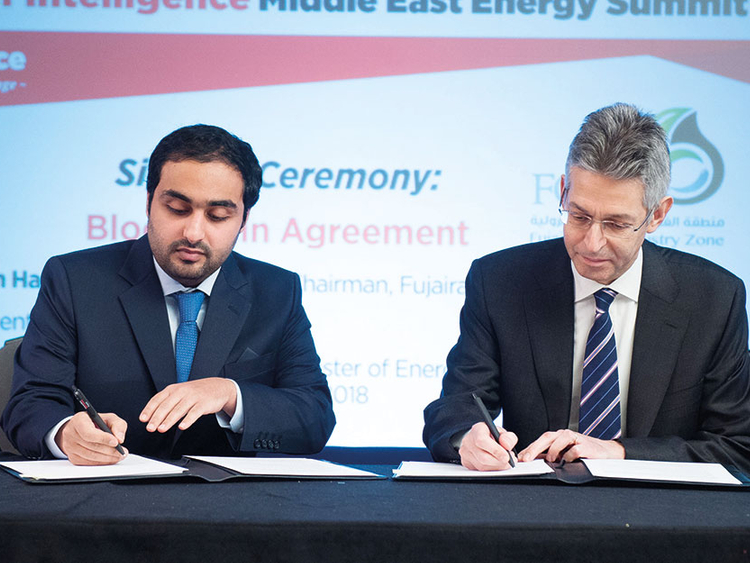 Fujairah oil terminal first in energy sector to deploy blockchain