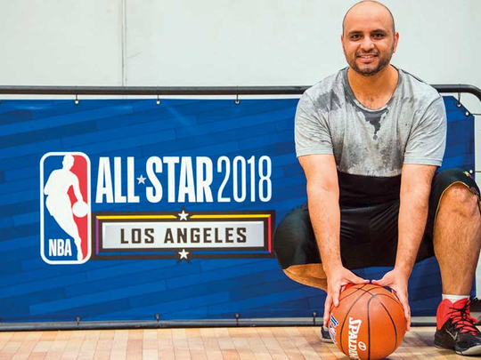 Al Sheezawi Scores Four Baskets In NBA All-Star Event