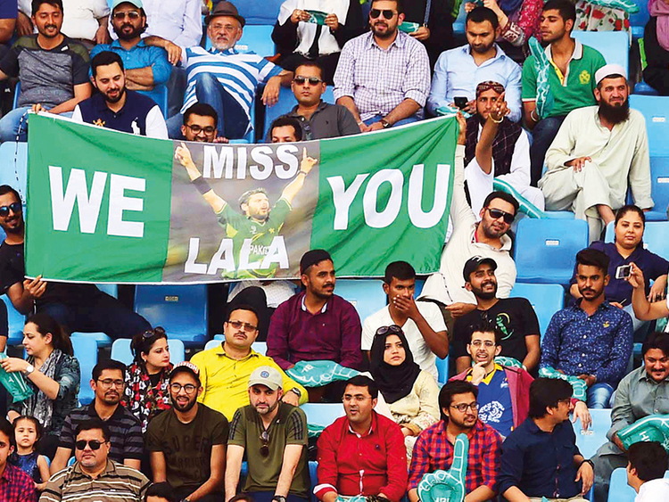 For Afridi, with love from fans and teammates   Cricket