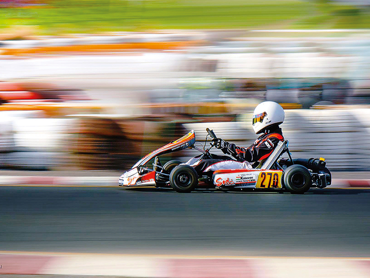 Kyle with a guile for racing | Motorsport – Gulf News