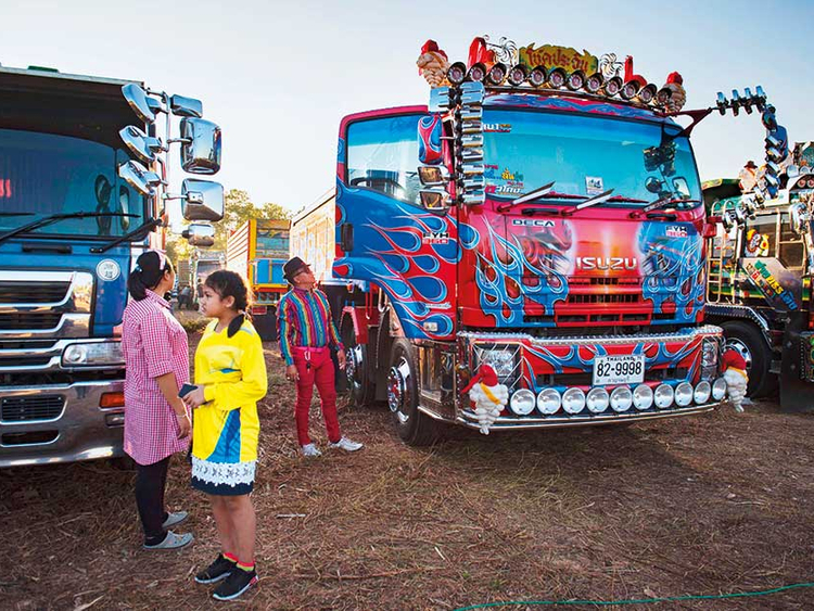 Anime, Michelin Man and Transformers: truck art thrives in Thailand