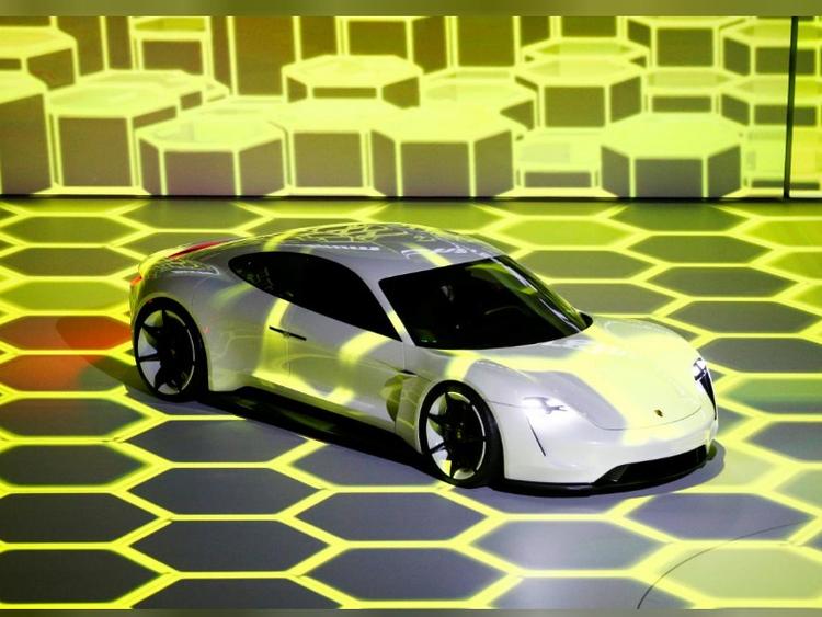 Look: Latest all-electric Porsche Mission E prototype photos