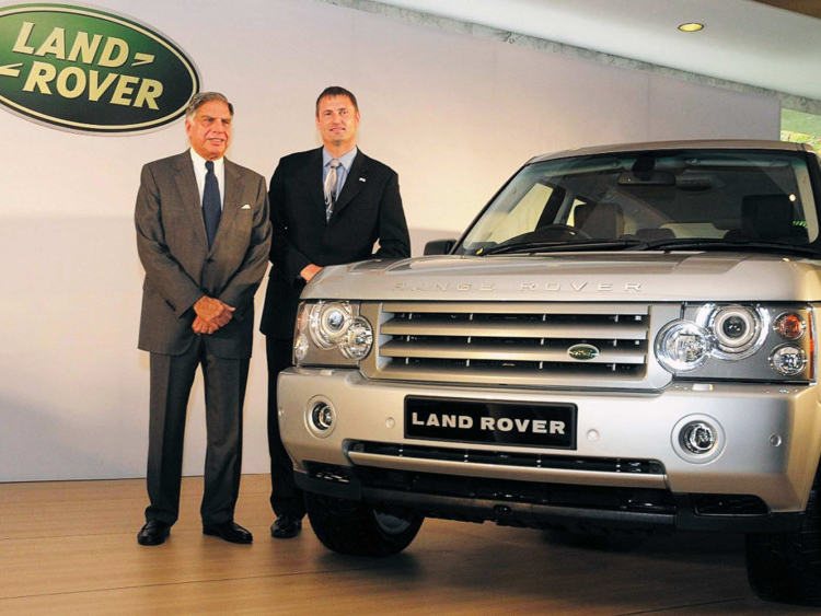 March 26 2008 Tata Buys Jaguar And Land Rover Today History