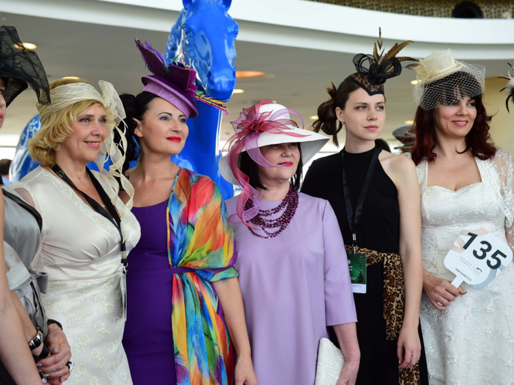 c39b30f090a4 High fashion  Style Stakes at the Dubai World Cup 2018