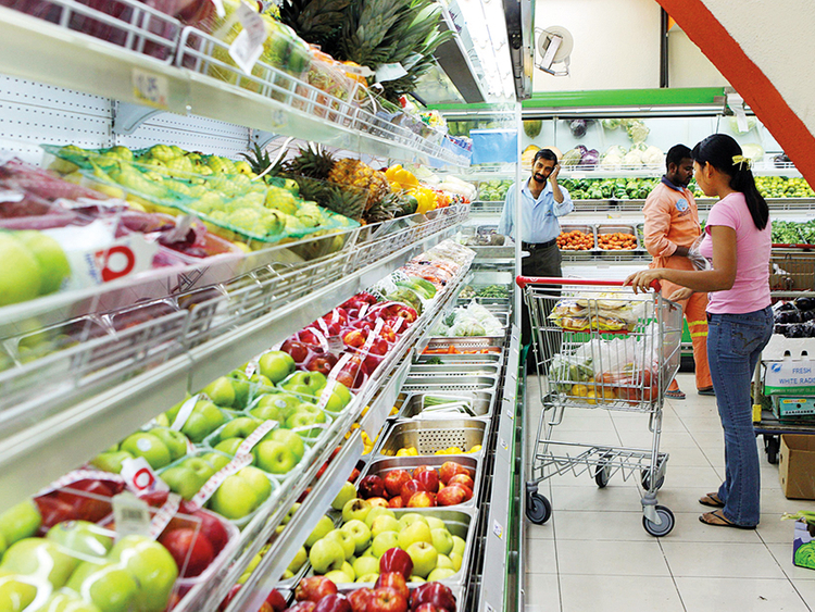 Grocery shopping for a family in UAE for less than Dh630 per month