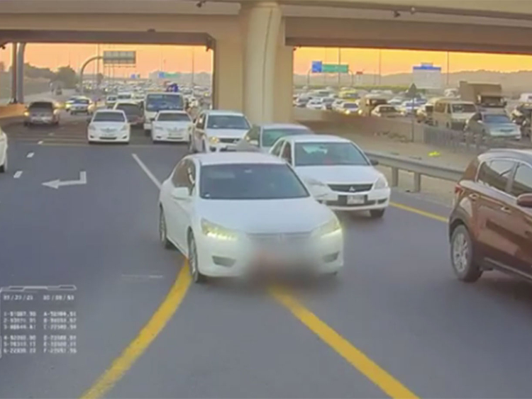 Watch: A traffic offence can cost you Dh400 in Sharjah