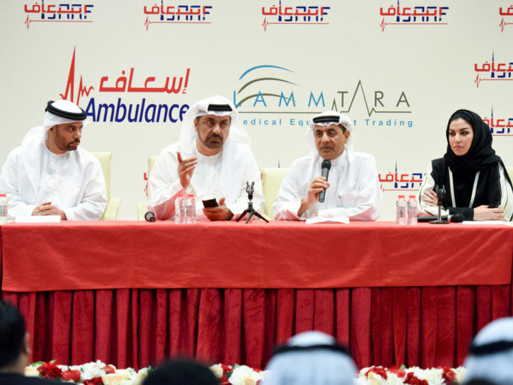 Isaaf' is new brand name for Dubai ambulance products
