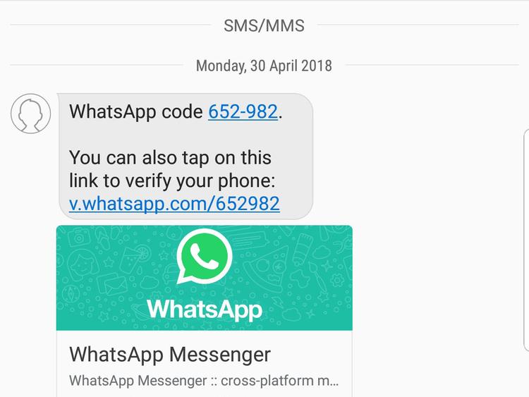 Beware: Fake SMS can steal your WhatsApp account | Uae