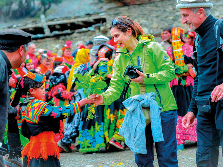 Pakistan's distinctive Kalash tribe celebrates spring