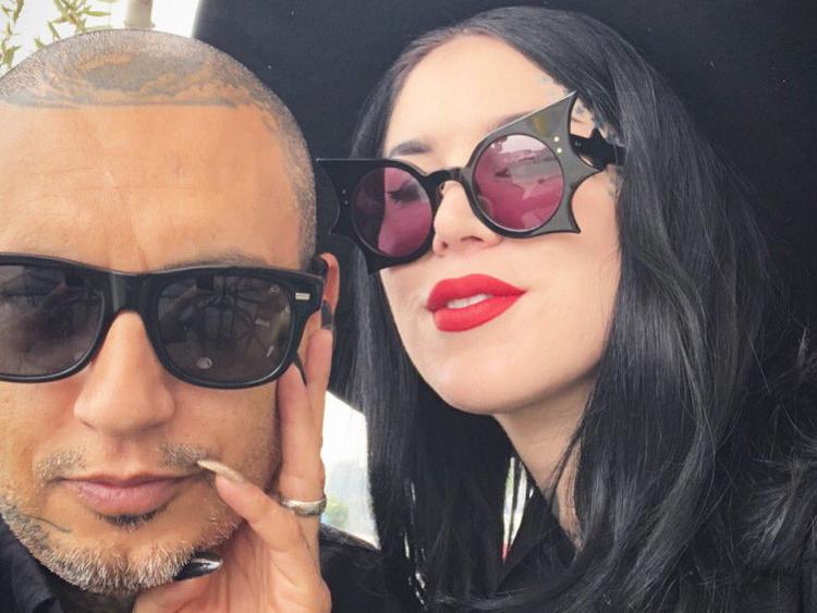 Kat Von D And Rafael Reyes Have Gothic Wedding Hollywood Gulf News