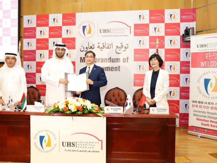 University Hospital Sharjah teams up with South Korean