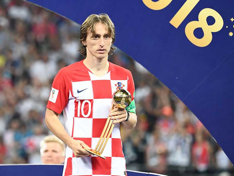 premium selection bd9f9 8e838 Modric finds Golden Ball 'bittersweet' after World Cup ...