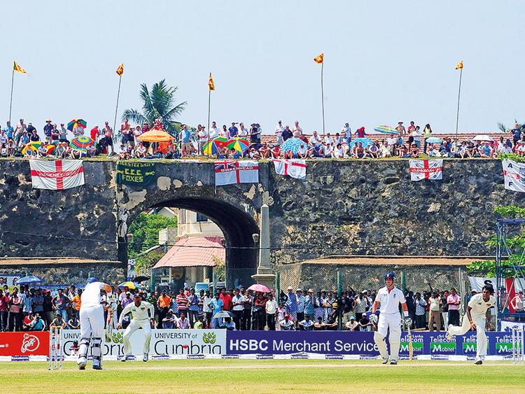 Sri Lanka's famed Galle stadium in danger