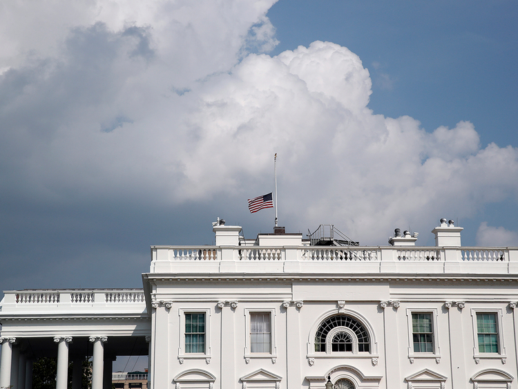 Sensational Trump Bows To Mccain Pressure Orders Flags Lowered Download Free Architecture Designs Scobabritishbridgeorg