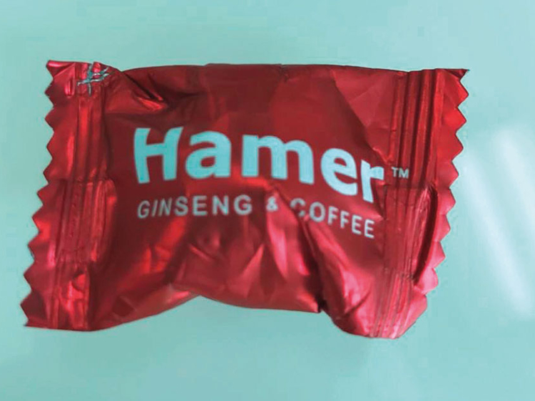 Image result for Hamer Ginseng Coffee Candy