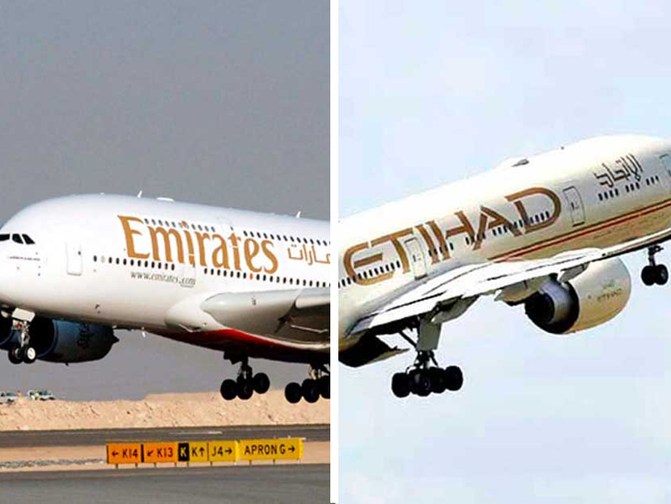 Emirates denies reports on takeover of Etihad Airways