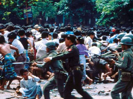 Resultado de imagen para myanmar 1988