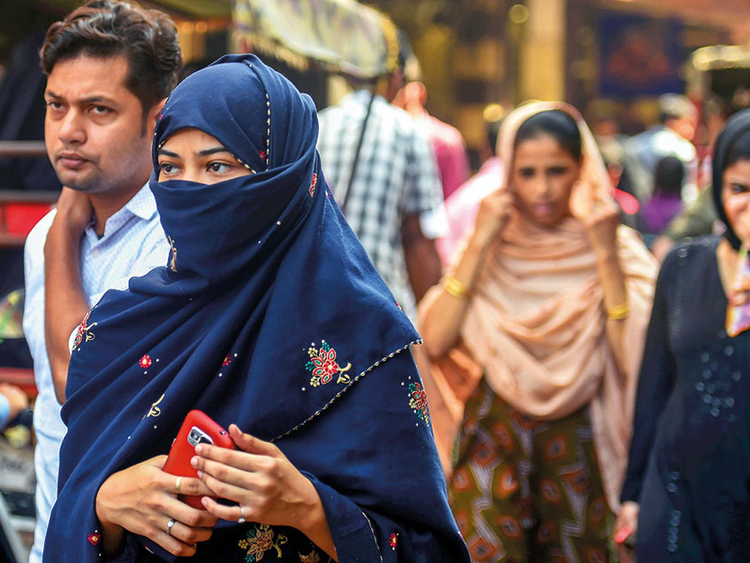Woman gets 'triple talaq' on the day India's law passed