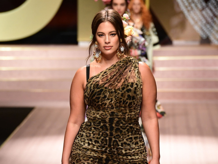 5a0f57c9fd5 Milan Fashion Week  Dolce   Gabbana go plus-sized