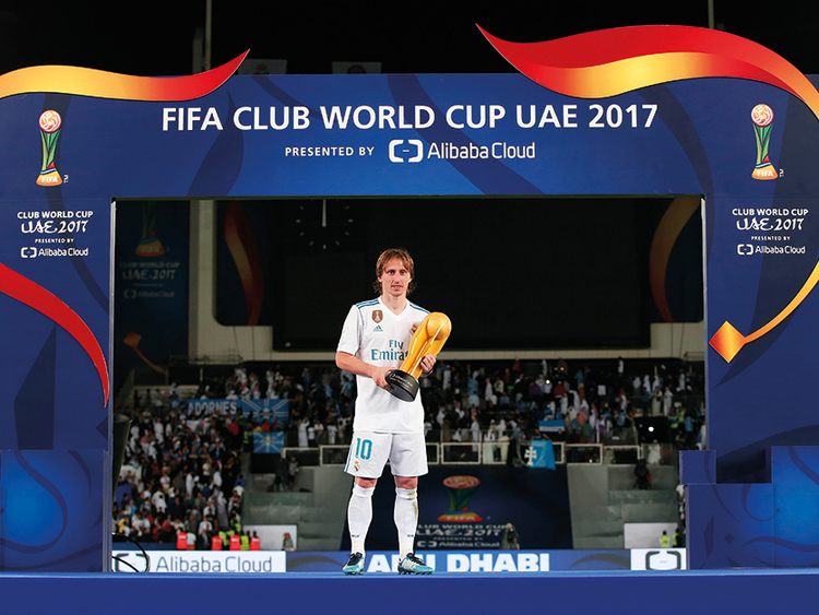 purchase cheap e3186 80952 UAE fans get to watch another world best in Modric ...