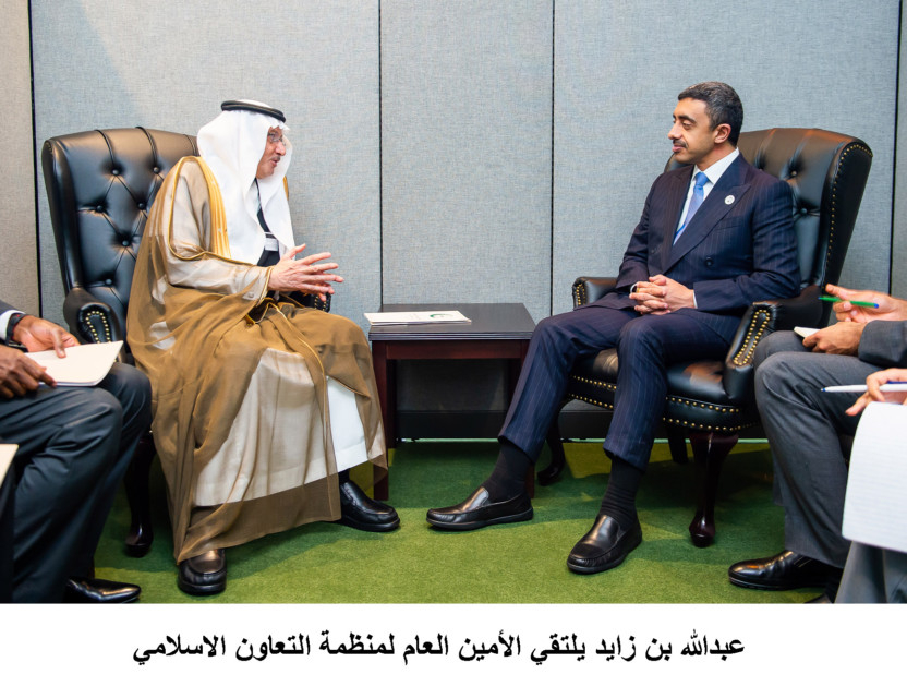 Abdullah Bin Zayed meets foreign ministers in New York