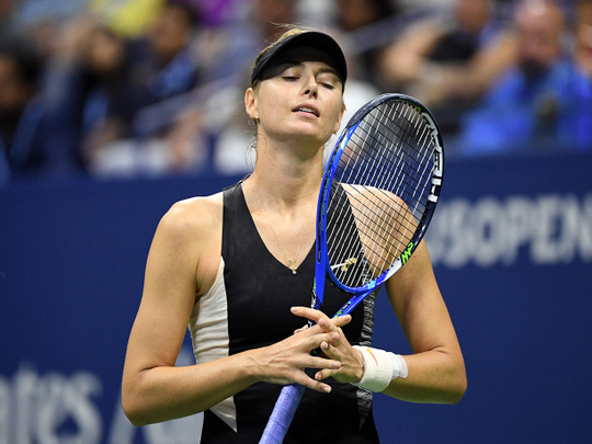 Tennis - I'm saying goodbye, Sharapova signs off in style
