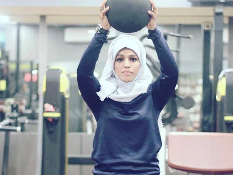 A hijab-wearing Muslim bodybuilder breaks stereotypes in Kerala