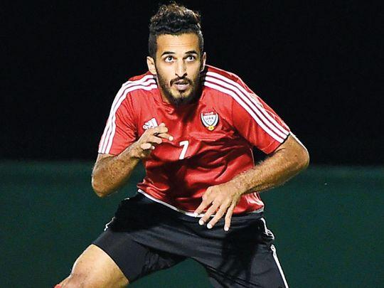 Ali Mabkhout of UAE