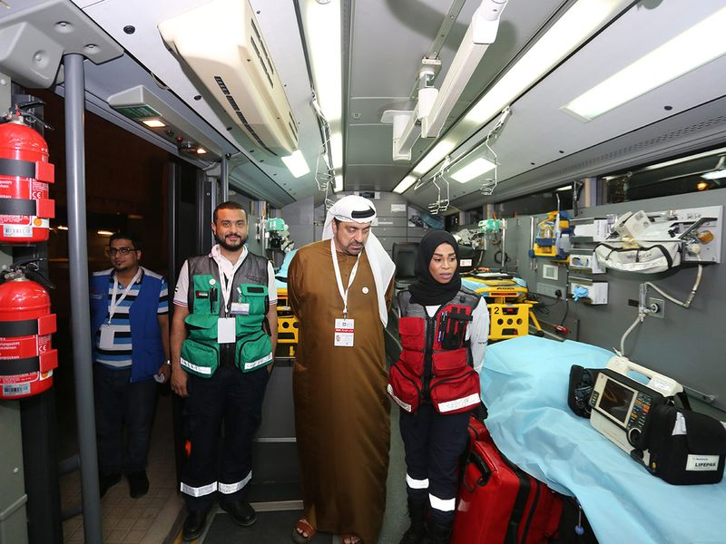 Dubai Ambulance attends to 604 patients on New Years Eve