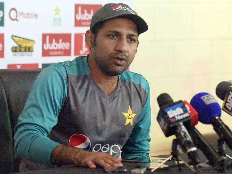 Pakistan captain Sarfraz Ahmad