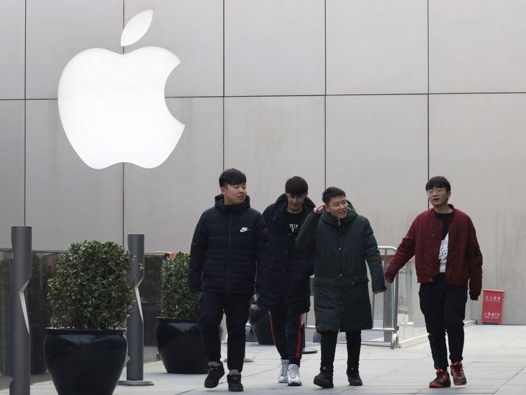 China takes a $5-billion-bite of Apple