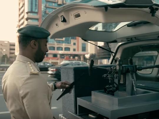 Dubai Police drones