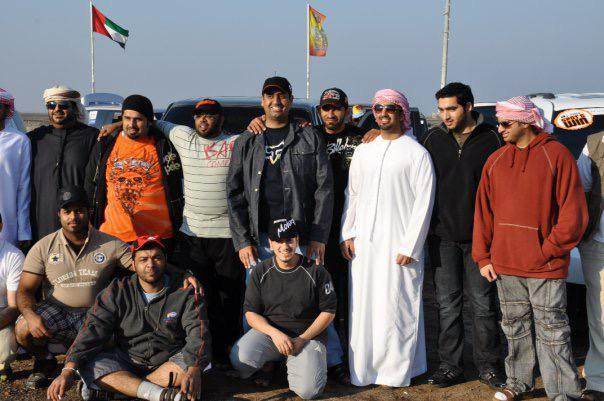 RDS_190103 Khalid Al Matrooshi Fun Drive Friends