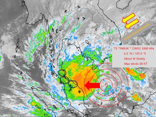 Thai weather forecast