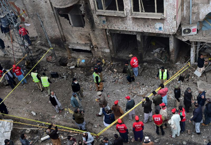 All six injured, including two women,