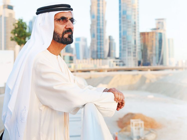 His Highness Shaikh Mohammad Bin Rashid Al Maktoum, Vice-President and Prime Minister of the UAE and Ruler of Dubai
