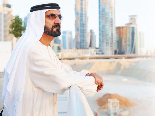 His Highness Shaikh Mohammad Bin Rashid Al Maktoum, Vice-President and Prime Minister of the UAE and Ruler of Dubai
