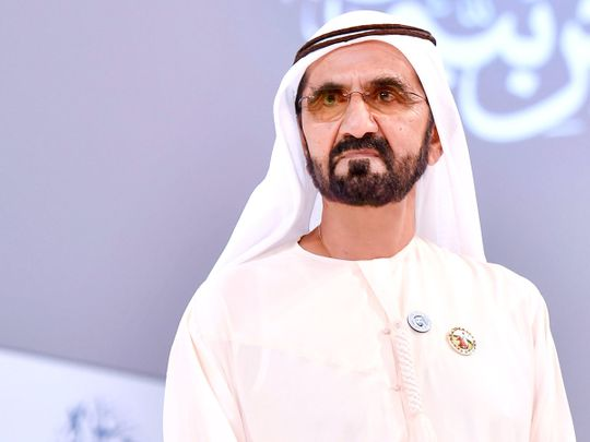 Sheikh Mohammed A Timeline Of Achievements Government Gulf News