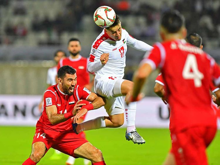Asian Cup Palestine Syria Sharjah 06012019
