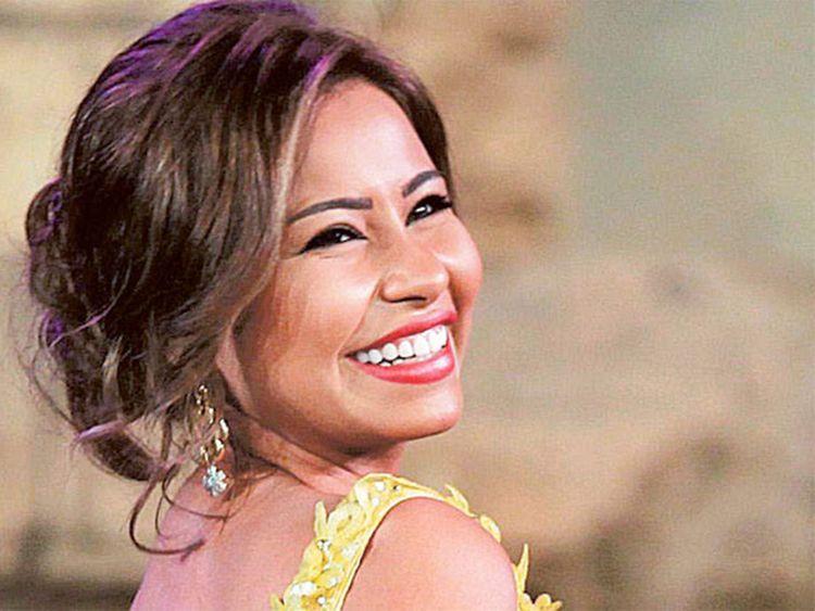 Egyptian singer Sherine