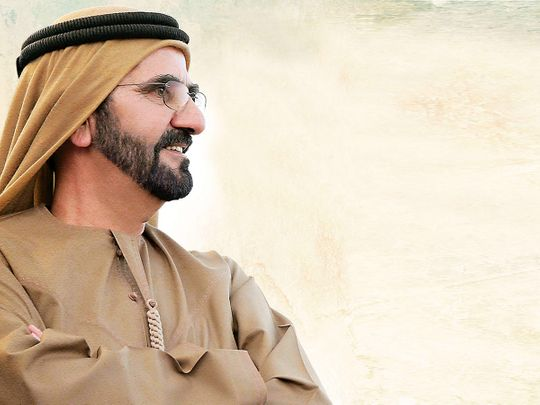 His Highness Shaikh Mohammad