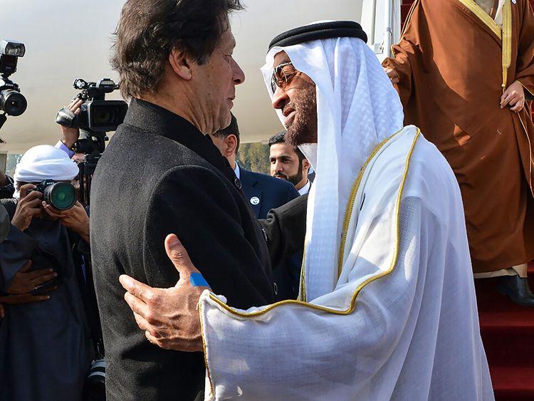 Imran Khan greets Mohammad Bin Zayed