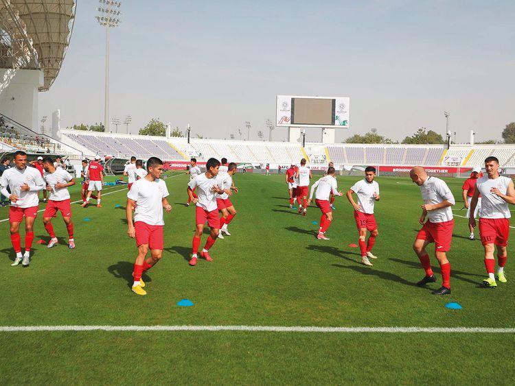 Kyrgyzstan team