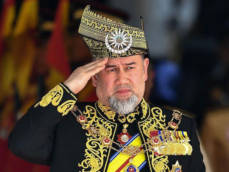 Malaysia's King Sultan Muhammad V