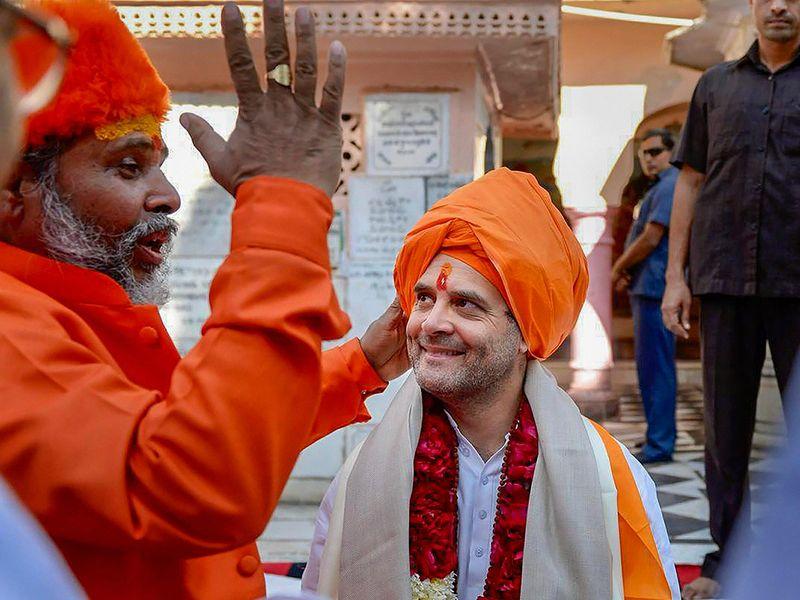 Rahul Gandhi offers prayers